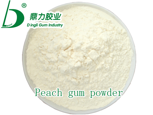 Peach gum powder